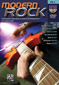 Modern Rock Guitar Play-Along DVD
