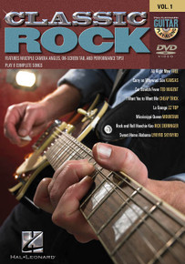 Classic Rock Guitar Play-Along DVD Volume 1