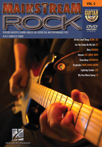 Mainstream Rock Guitar Play-Along DVD Volume 5