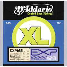 D'Addario EXP Coated Nickel Wound Bass Guitar Strings