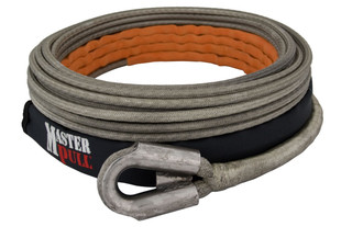 Superline XD synthetic winch line.
