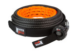 Classic UltraLite Synthetic Winch Line in black color.