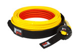 "9.6mm (3/8"") x 85' Superline XD UltraLite Winch Line - Yellow - 21,700 lbs"