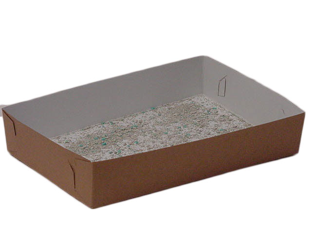 disposable standard litter tray