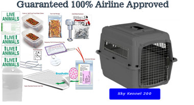 Sky Kennel 200 complete airline package