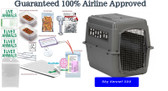 Sky Kennel 500 complete airline travel Package