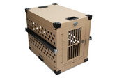 IATA CR82 Dog Crate Aluminum Pet Travel Crate - Medium