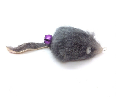 Rabbit Fur Mouse teaser wand refill