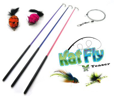 New KatFly Teaser Wand Kit