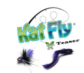 KatFly® Teaser Purple Bug and Purple Eel Set