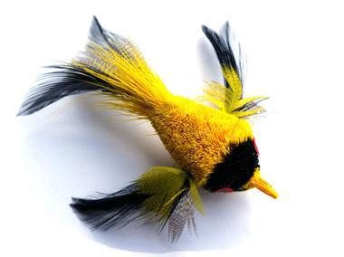 Cat Toy Teaser Wand Refill - Yellow Bird