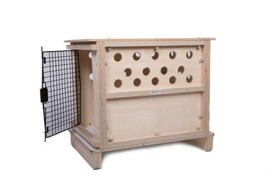CR8-2Fly ® Wood Crate for Pet Travel