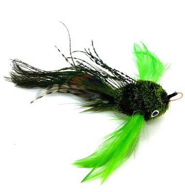 Cat Toy Kat Fly ® Teaser Wand Refill - Green Fish