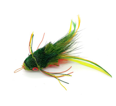 Swimming Frog KatFly® Cat Toy Teaser Wand Refill - Green