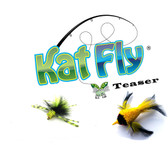 KatFly® Teaser Cat toy Bird and Bugsy Refill Set