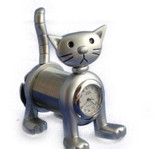 SPRING CAT MINI CLOCK COLLECTIBLE DESKTOP CLOCK