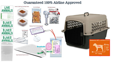 Max All-in-One Airline Pet Kennel Package