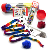 Interactive assortment of Cat Toys