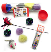 Feather Cat Wand Cat Toy package
