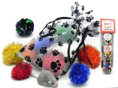 Catnip & Cat Toy Gift Bag