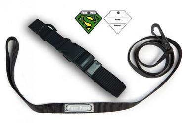 Pet Travel collar & Leash Set