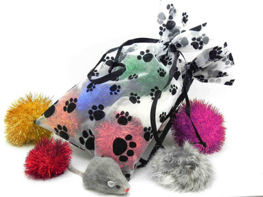 Classic Cat Toy Gift Bag
