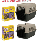 Airline Approved Kennel Kit Combo