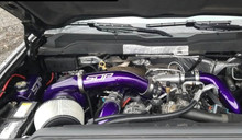 SDP twin turbo kit Duramax LML Illusion Purple compound