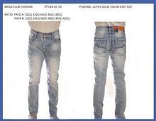 Men's fashion stretched denim jeans #KE03