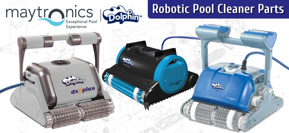 Maytronics Dolphin Parts For Robotic Pool Cleaners New