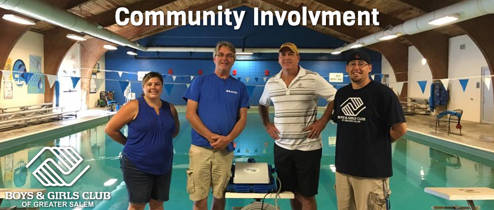 Community Involvement Donation of Robot Pool Cleaner to Boys & Boys Club