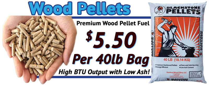 Wood Pellets for Sale in NH MA at E-Z Test Pool Supplies