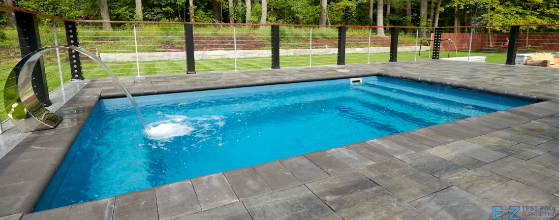 What Is A Fiberglass Plunge Pool E Z Test Pool Supplies
