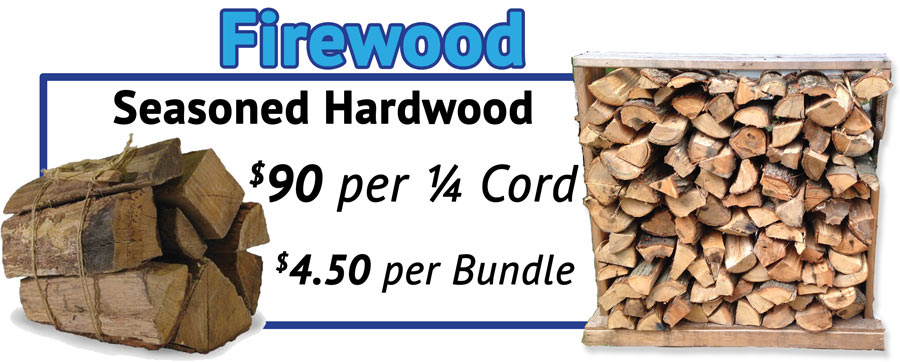 Firewood for sale in Plaistow, NH Derry NH and North Reading MA