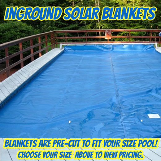 Solar Pool Blankets For Inground Pools In Ground Pool