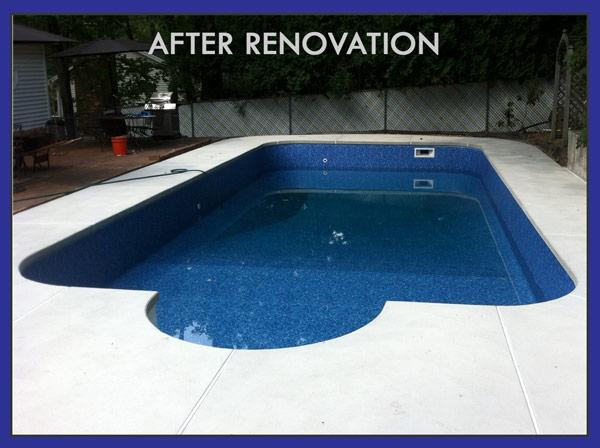Swimming pool renovation remodeling service repair in NH, MA
