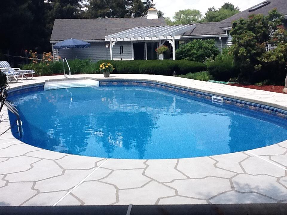 Inground Pool Construction in NH and MA at E-Z Test Pool Supplies, Inc