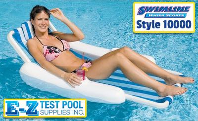 swimline 10000 sunchaser sling style floating lounge chair