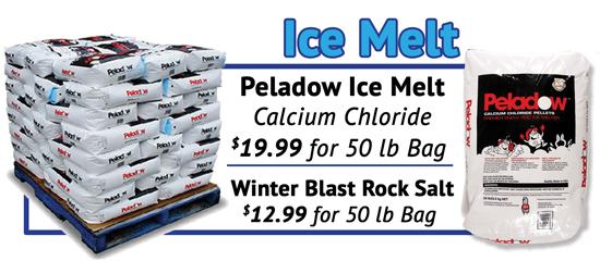 Ice Melt, rock salt, calcium chloride, for sale in Plaistow, NH