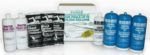 Pool Trol 57538 Winterizing Kit for Pools Up to 35000-Gallon, Large