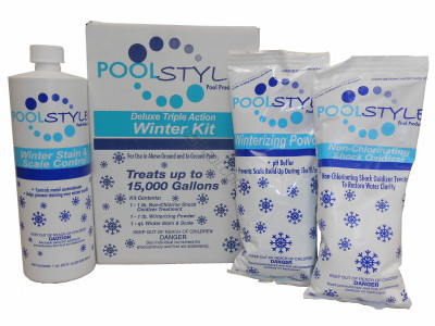 Poolstyle Deluxe Triple Action Winter Kit 15K Gal. (33845P)