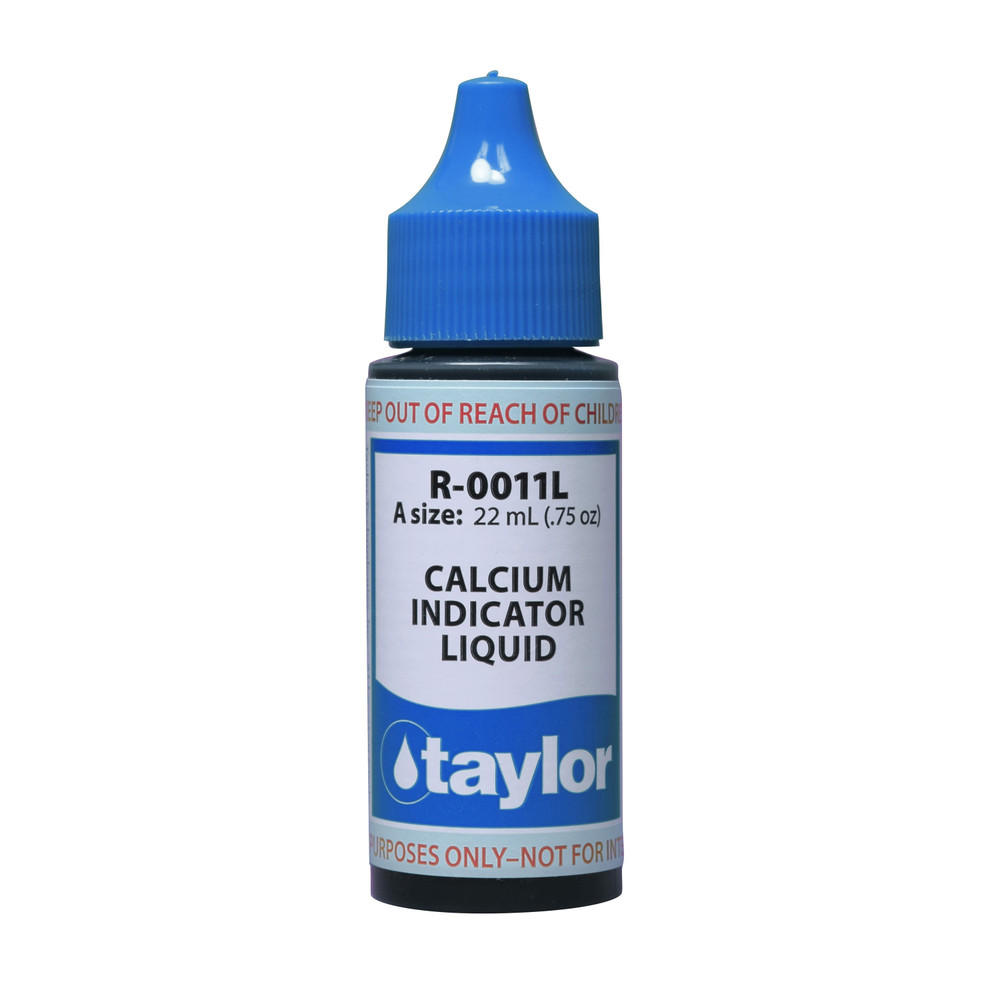 Taylor Calcium Indicator #11 Reagent - 3/4 Oz. Dropper Bottle (R-0011L-A)