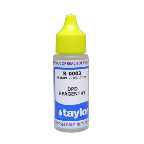 Taylor DPD #3 Reagent - 3/4 Oz. Dropper Bottle (R-0003-A)