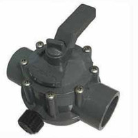 "Jandy 1.5""-2"" 3-Port CPVC Gry Valve (1157)"
