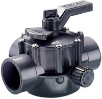 "Jandy 2""-2.5"" 2-Port CPVC Gry Valve (2876)"