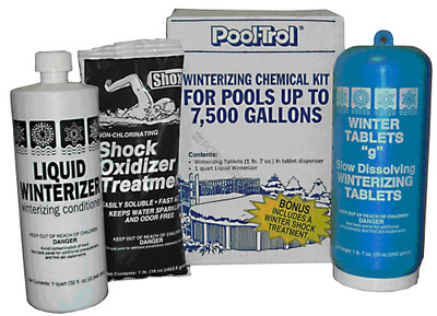 Pool Trol 7.5K Gal. Winter Kit (57532)