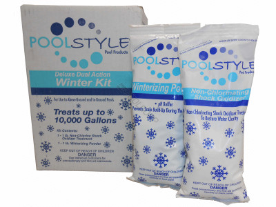 Poolstyle Deluxe Triple Action Winter Kit 10K Gal. (33840P)
