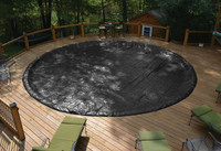 GLI 27/28' Round Above Ground Classic Pool Cover w/ 4' Overlap (45-0028RD-CLA-4-BX)