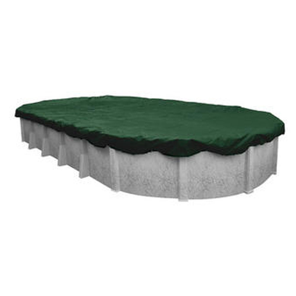 Swimline 16' X 25' Oval Ripstopper Above Ground Pool Cover w/ 4' Overlap (RIG1625)
