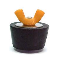 #4 Winter Plug .75 1in. Pipe Colored Wingnut (Orange) (SP204CC)
